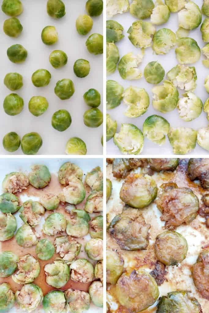 MAPLE SRIRACHA BRUSSELS SPROUTS PREP WORK