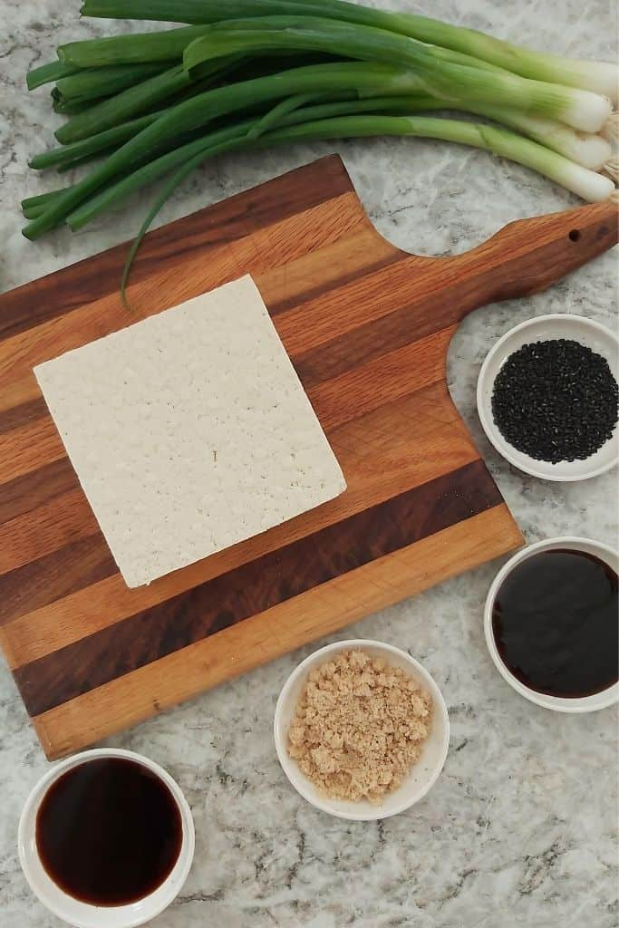 Hoisin Baked Tofu Ingredients