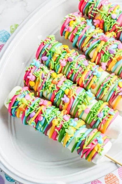 Easter Marshmallow Pops by Made With Happy