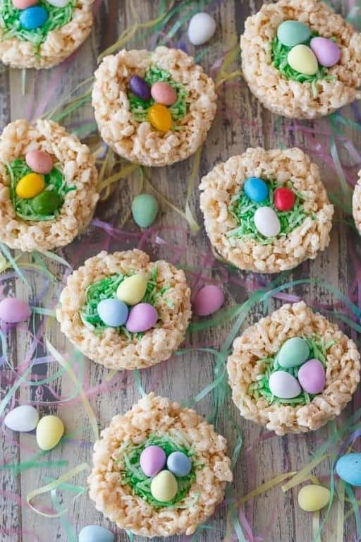 Krispie Easter Nests by Simply Stacie