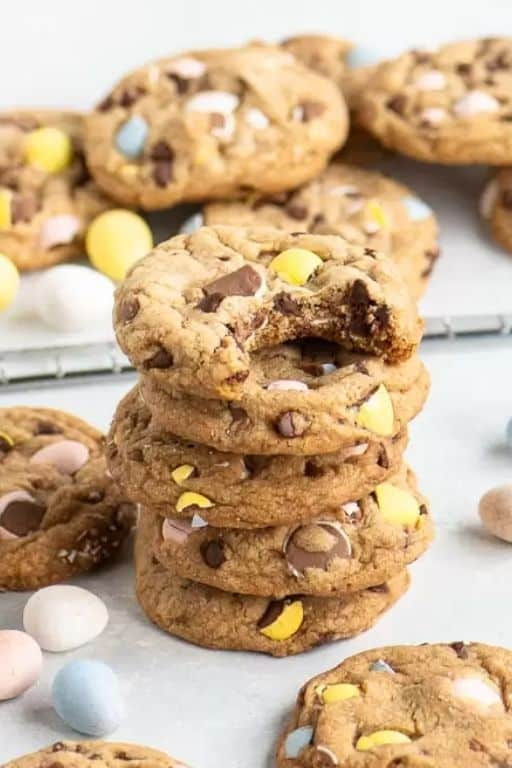 Mini Egg Cookies by The Itsy-Bitsy Kitchen