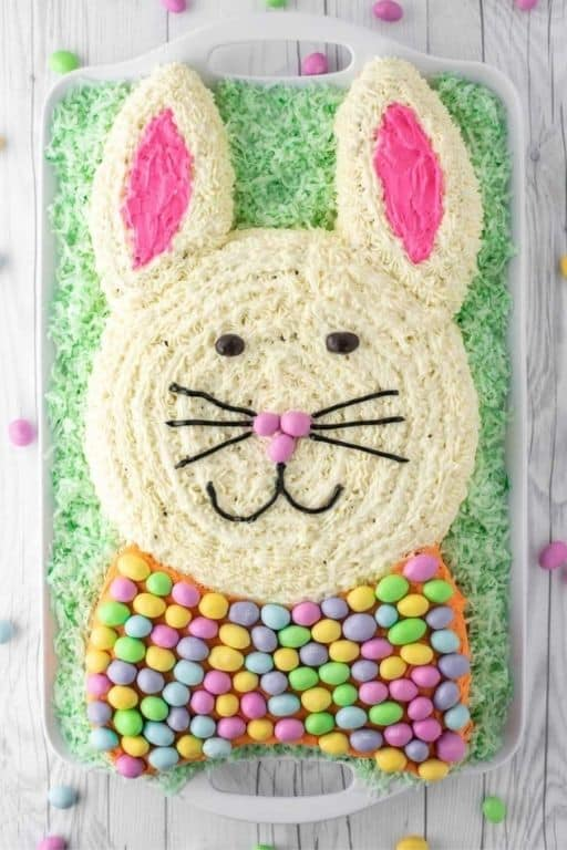 Easter Bunny Carrot Cake by Chisel and Fork