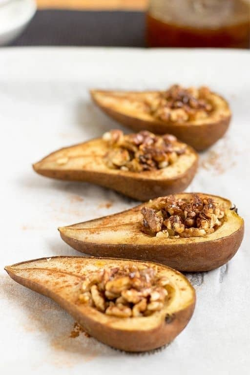 Cinnamon Baked Pears by Hurry The Food Up
