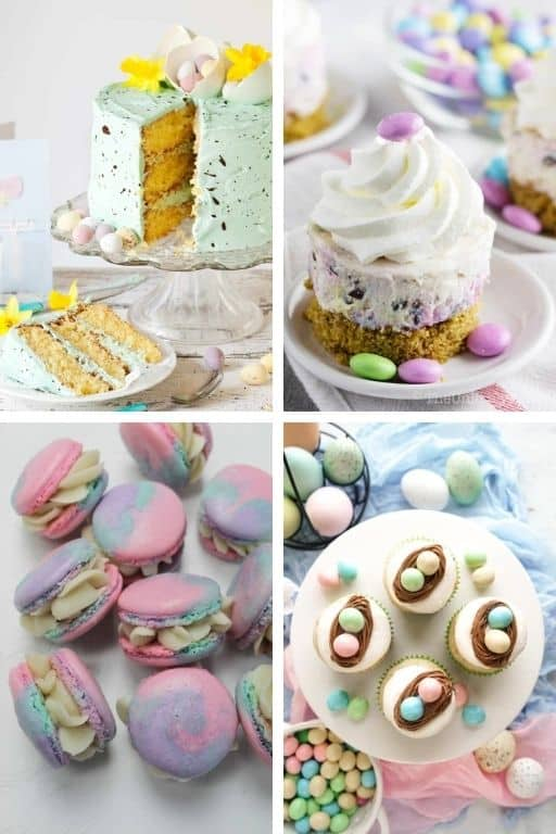 AMAZING EASTER DESSERTS FOR BRUNCH