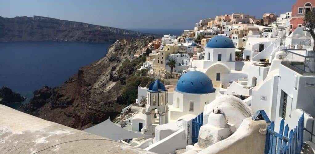 Lightweight summer dresses for Greece, Oia, Santorini