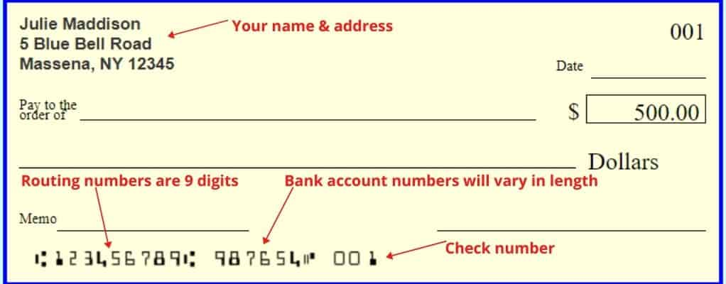 Can I Use a Check With an Old Address
